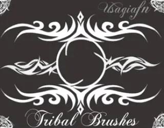 Photoshop Free Tribal Brushes