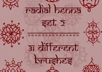 Radial Mehndi