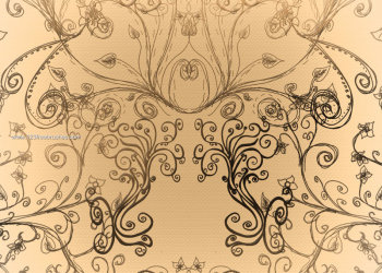 Doodle Floral Decoration