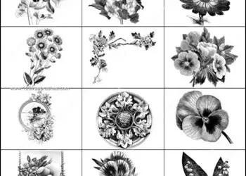 Flower Bouquets Brushes Photoshop