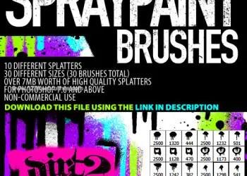 Hi-Res Splatters 1