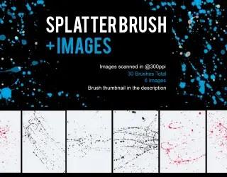 Ink Splatter Paint 99