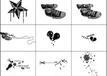 Sneakers Photoshop Brushes