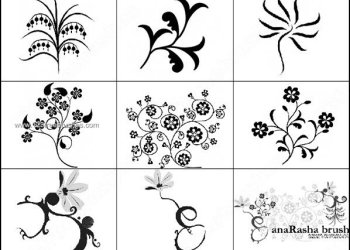 Free Floral Brushes for Photoshop Download