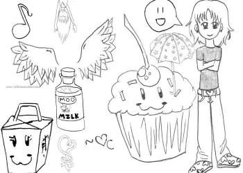 Cute Scribble Doodles