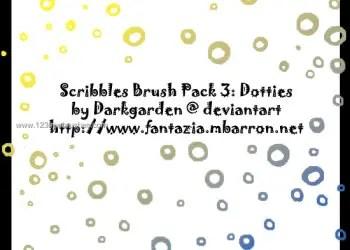 Scribble Pack Dotties