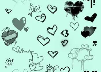 Love Scribble Heart