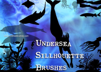 Animals And Sea Plants Brushes Free