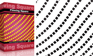 Flowing Shapes : Square Pack