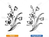 5003049-hand-drawn-sketch-flowers-vector-and-photoshop-brush-pack-02_p005