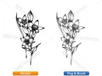 5003049-hand-drawn-sketch-flowers-vector-and-photoshop-brush-pack-02_p011