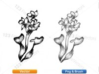 5003053-hand-drawn-sketch-flowers-vector-and-photoshop-brush-pack-06_p006