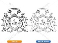 5012010-hand-drawn-sketch-heraldic-coat-of-arms-vector-and-brush-pack-01_p003