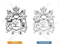 5012010-hand-drawn-sketch-heraldic-coat-of-arms-vector-and-brush-pack-01_p013