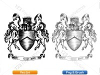 5012010-hand-drawn-sketch-heraldic-coat-of-arms-vector-and-brush-pack-01_p020