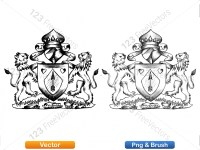 5012011-hand-drawn-sketch-heraldic-coat-of-arms-vector-and-brush-pack-02_p003