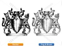 5012011-hand-drawn-sketch-heraldic-coat-of-arms-vector-and-brush-pack-02_p011