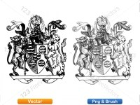 5012011-hand-drawn-sketch-heraldic-coat-of-arms-vector-and-brush-pack-02_p012