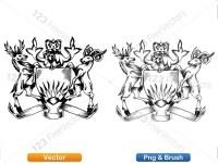 5012011-hand-drawn-sketch-heraldic-coat-of-arms-vector-and-brush-pack-02_p020