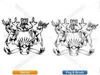 5012011-hand-drawn-sketch-heraldic-coat-of-arms-vector-and-brush-pack-02_p020