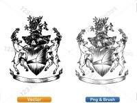 5012011-hand-drawn-sketch-heraldic-coat-of-arms-vector-and-brush-pack-02_p023