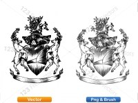 5012011-hand-drawn-sketch-heraldic-coat-of-arms-vector-and-brush-pack-02_p023