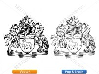 5012012-hand-drawn-sketch-heraldic-coat-of-arms-vector-and-brush-pack-03_p001