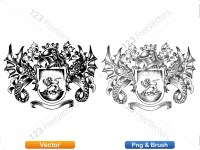 5012012-hand-drawn-sketch-heraldic-coat-of-arms-vector-and-brush-pack-03_p003