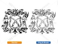 5012012-hand-drawn-sketch-heraldic-coat-of-arms-vector-and-brush-pack-03_p006