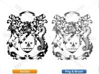 5012012-hand-drawn-sketch-heraldic-coat-of-arms-vector-and-brush-pack-03_p007