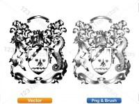 5012012-hand-drawn-sketch-heraldic-coat-of-arms-vector-and-brush-pack-03_p007
