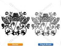 5012012-hand-drawn-sketch-heraldic-coat-of-arms-vector-and-brush-pack-03_p009