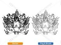 5012012-hand-drawn-sketch-heraldic-coat-of-arms-vector-and-brush-pack-03_p021