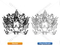 5012012-hand-drawn-sketch-heraldic-coat-of-arms-vector-and-brush-pack-03_p021