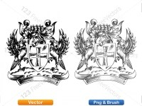 5012012-hand-drawn-sketch-heraldic-coat-of-arms-vector-and-brush-pack-03_p022