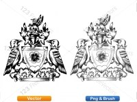 5012012-hand-drawn-sketch-heraldic-coat-of-arms-vector-and-brush-pack-03_p024