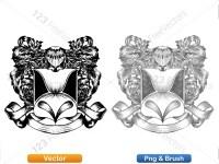 5012013-hand-drawn-sketch-heraldic-coat-of-arms-vector-and-brush-pack-04_p007