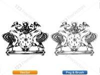 5012013-hand-drawn-sketch-heraldic-coat-of-arms-vector-and-brush-pack-04_p008