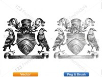 5012013-hand-drawn-sketch-heraldic-coat-of-arms-vector-and-brush-pack-04_p018