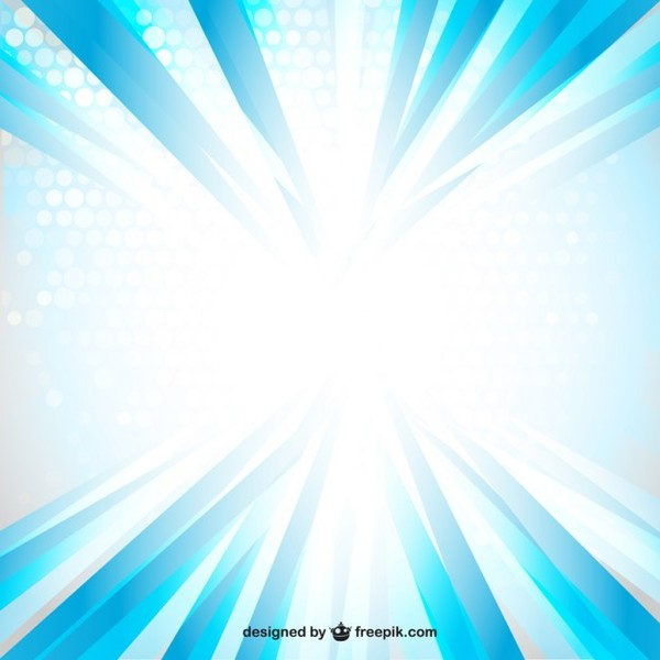 Blue Ray Light Free Vector