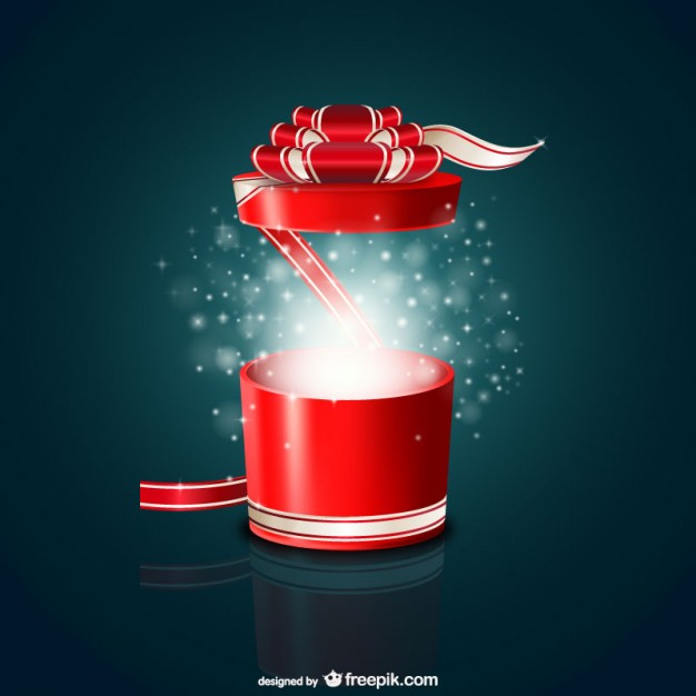 Round gift box free vector 123freevectors round gift box free vector negle Images