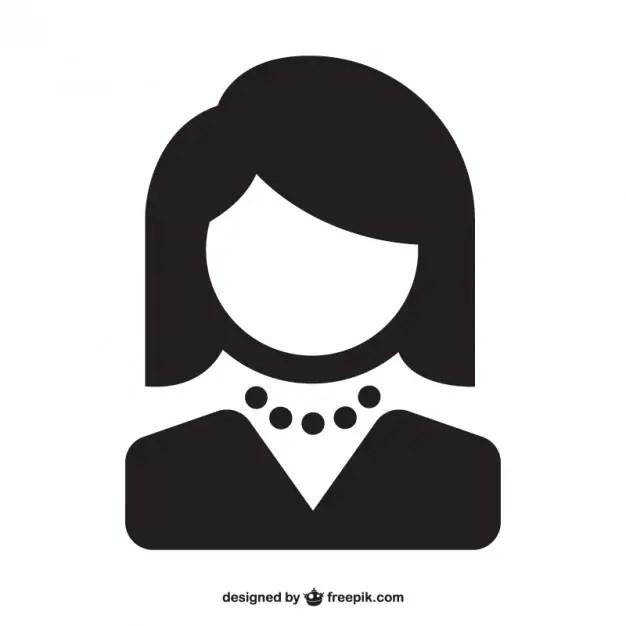 woman avatar free vector 123freevectors