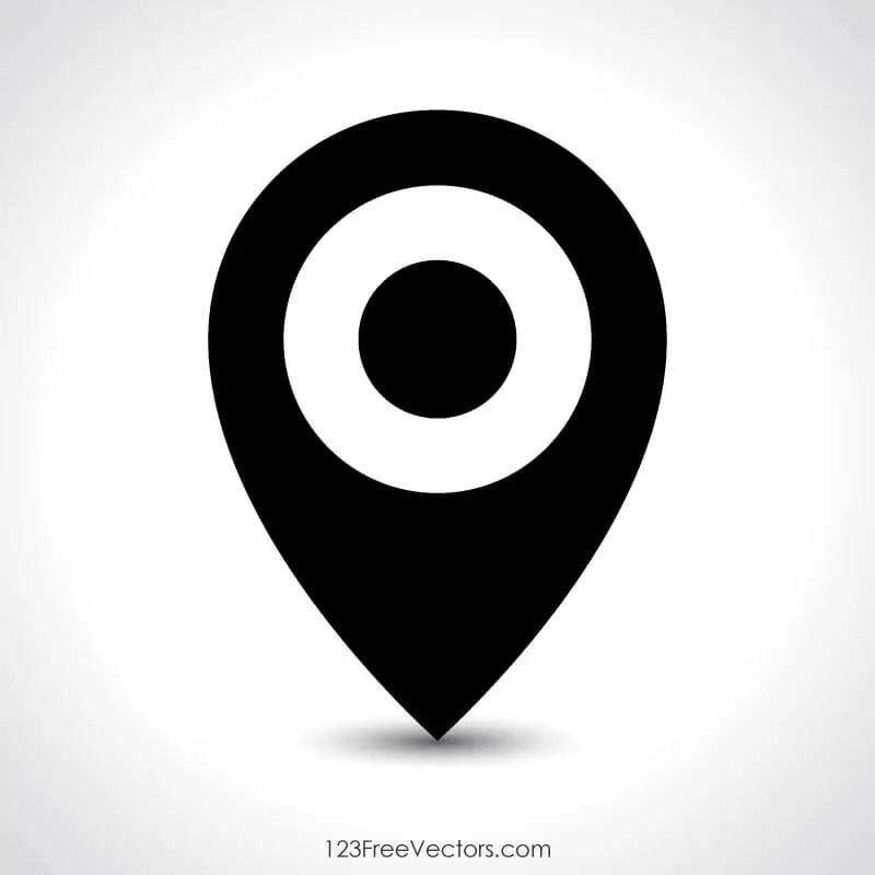 Location Symbol 123Freevectors
