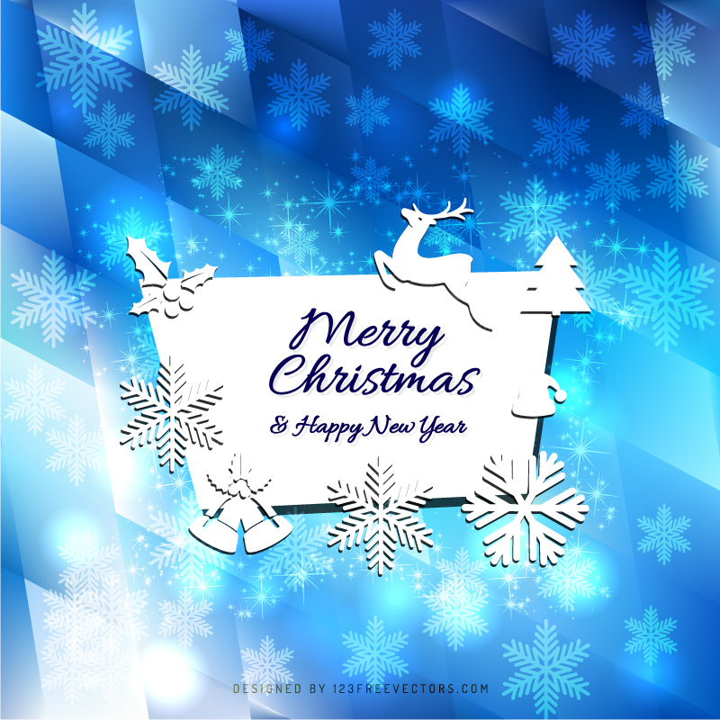 Merry christmas and happy new year greeting card template merry christmas and happy new year greeting card template m4hsunfo