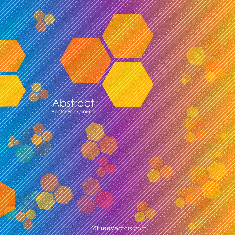 abstract geometric polygon design vector 123freevectors