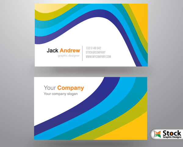 Free corporate business card templates 123freevectors free corporate business card templates cheaphphosting Images
