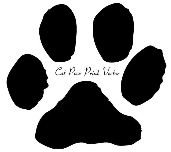 cat paw print clip art image 123freevectors rh 123freevectors com dog and cat paw prints clip art free cat paw print clipart