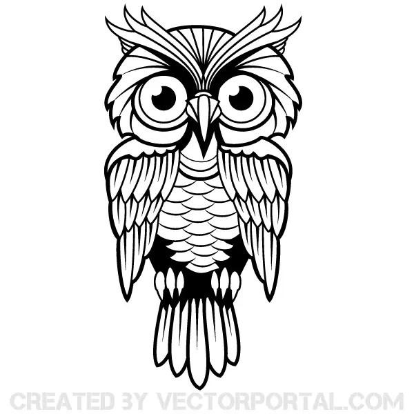 owl vector art 123freevectors rh 123freevectors com owl vector outline owl vector art free download