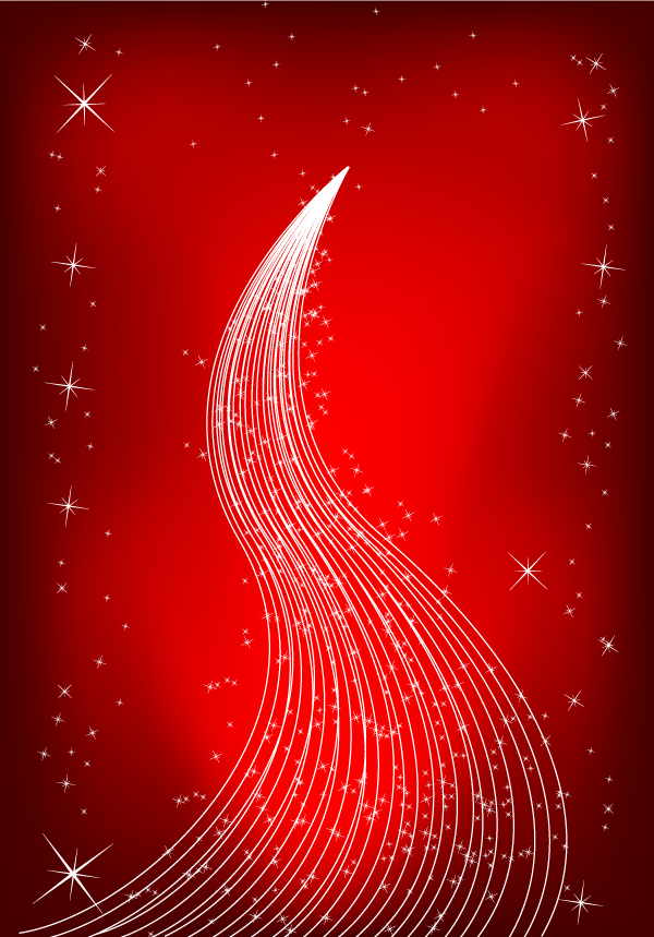 Red Christmas Background Vector Illustration  123Freevectors