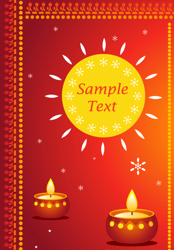 Happy diwali greeting cards vector free 123freevectors happy diwali greeting cards vector free m4hsunfo